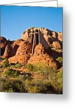 Chapel Of The Holy Cross Sedona Arizona 100 Greeting Card