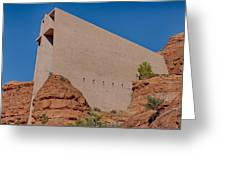 Chapel Of The Holy Cross Sedona Az Side Greeting Card