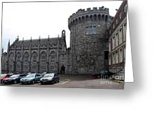 Chapel Royal And Record Tower - Dublin Castle Greeting Card