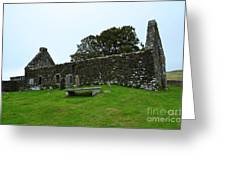 Chapel Ruins At Dunvegan Greeting Card