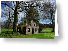 Chapel Ruins Greeting Card