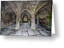 Chapter House Interior Greeting Card
