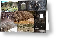 Charcoal Kilns Greeting Card