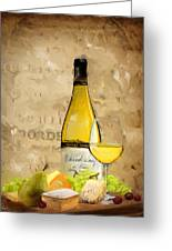 Chardonnay Iv Greeting Card