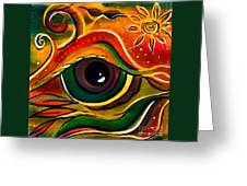 Charismatic Spirit Eye Greeting Card