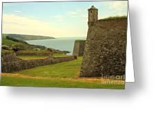 Charles Fort Kinsale Greeting Card