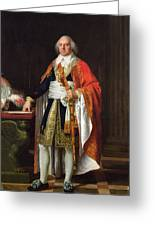 Charles Louis Francois Letourneur 1751-1817 1796 Oil On Canvas Greeting Card