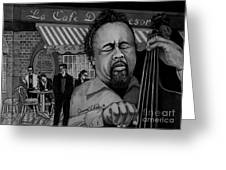 Jazz Charles Mingus Jr Greeting Card