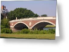 Charles River Greeting Card