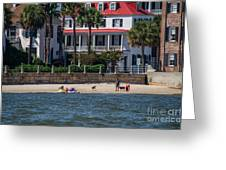 Charleston Beach Greeting Card