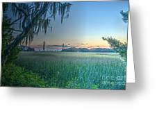 Charleston Bridge View Greeting Card