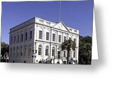 Charleston City Hall Greeting Card
