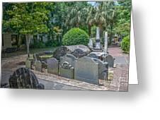 Charleston Graveyard Greeting Card