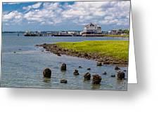 Charleston Harbor Greeting Card