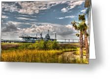 Charleston Marsh View Greeting Card