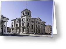 Charleston Post Office And Courthouse Greeting Card