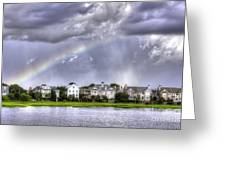 Charleston Rainbow Homes Greeting Card