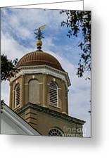 Charleston Round Dome Greeting Card