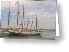 Charleston Ships Greeting Card