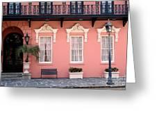 Charleston South Carolina - The Mills House - Art Deco Architecture Greeting Card