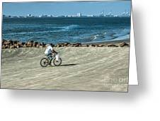 Charleston Surf Fishing Greeting Card