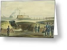 Charlestons Defense Circa 1863 Greeting Card by Aged Pixel