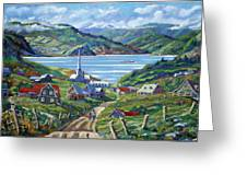 Charlevoix Scene Greeting Card
