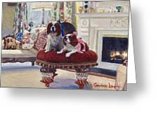 Charlie And Lizzie Greeting Card