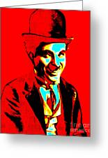 Charlie Chaplin 20130212 Greeting Card by Wingsdomain Art and Photography