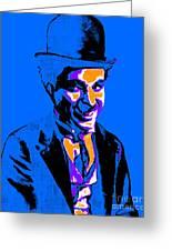 Charlie Chaplin 20130212m145 Greeting Card