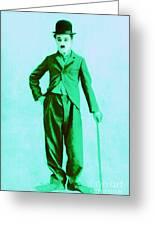 Charlie Chaplin The Tramp 20130216m150 Greeting Card