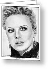 Charlize Theron In 2008 Greeting Card