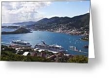 Charlotte Amalie Greeting Card