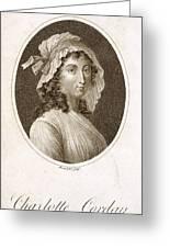 Charlotte Corday Greeting Card
