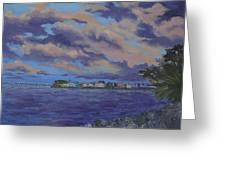 Charlotte Harbor Sunset Greeting Card