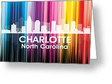 Charlotte Nc 2 Greeting Card by Angelina Vick