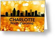 Charlotte Nc 3 Greeting Card