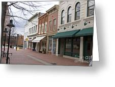 Charlottesville Virginia Downtown Mall Greeting Card