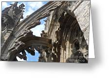 Chartres Flying Buttress Greeting Card