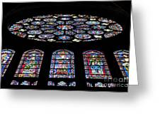 Chartres Greeting Card