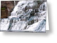 Chasing Waterfalls Greeting Card