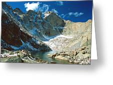Chasm Lake Greeting Card
