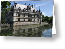 Chataeu Azay-le-rideau Greeting Card