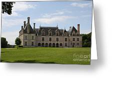 Chateau Beauregard Loire Valley Greeting Card