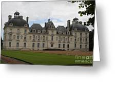 Chateau Cheverney - Front View Greeting Card