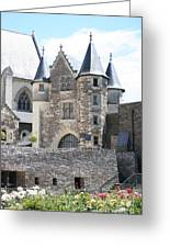 Chateau D'angers - Chatelet  Greeting Card