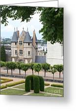 Chateau D'angers - Chatelet View Greeting Card