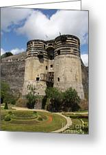Chateau D'angers - France Greeting Card