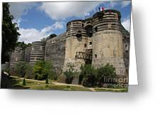 Chateau D'angers - The Keep Greeting Card