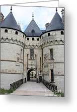 Chateau De Chaumont - France Greeting Card